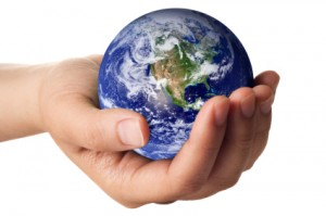 Eco Friendly - Earth in Hand